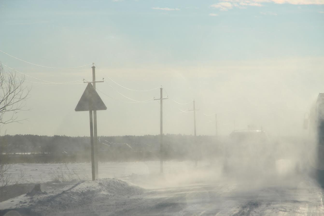 Натрассе Тюмень— Ханты-Мансийск резко обострилась дорожная обстановка