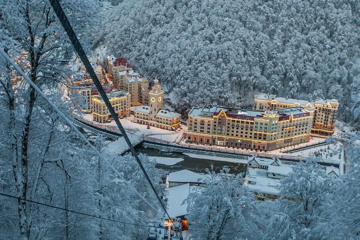 Горнолыжный комплекс «Роза Хутор» получил премию World Ski Awards 2016