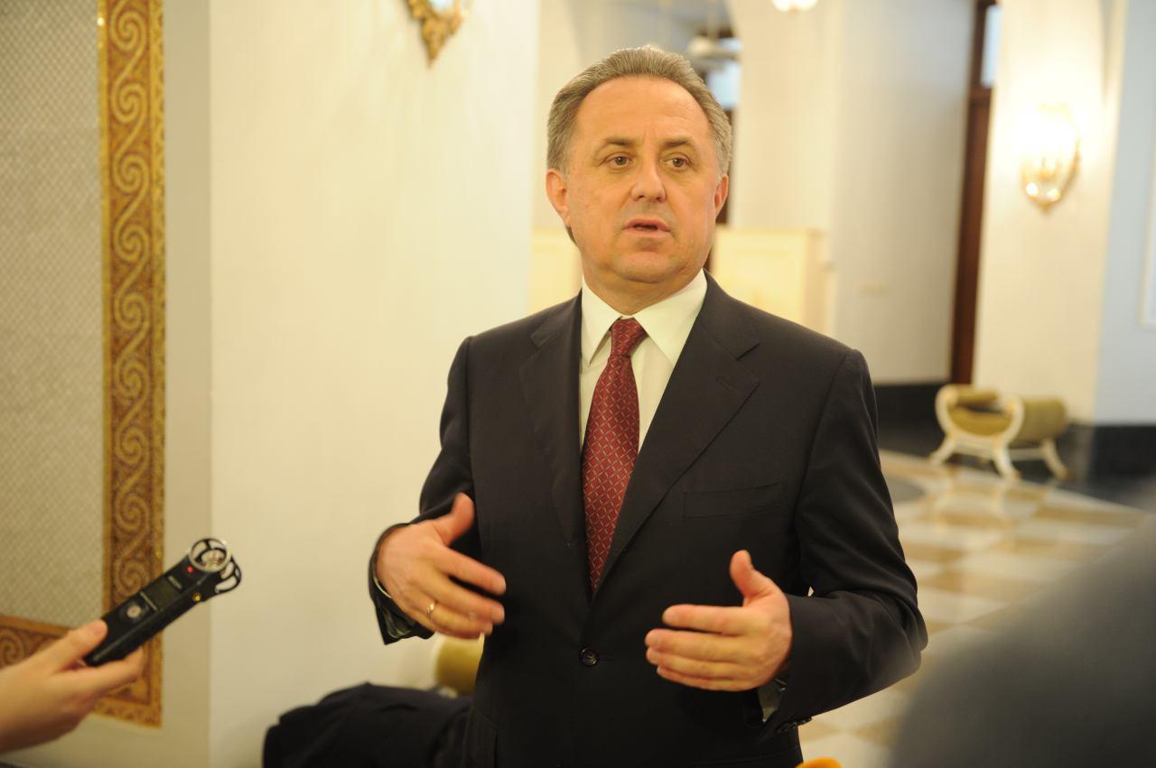 Вице-премьер правительства РФ по спорту и туризму Виталий Мутко