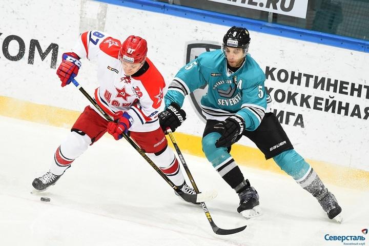 Хоккейная «Северсталь» изЧереповца проиграла шестой матч подряд