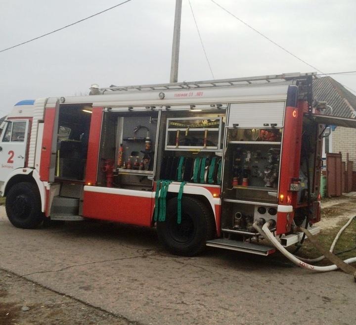 Впожаре вБелгородском районе чуть не умер человек