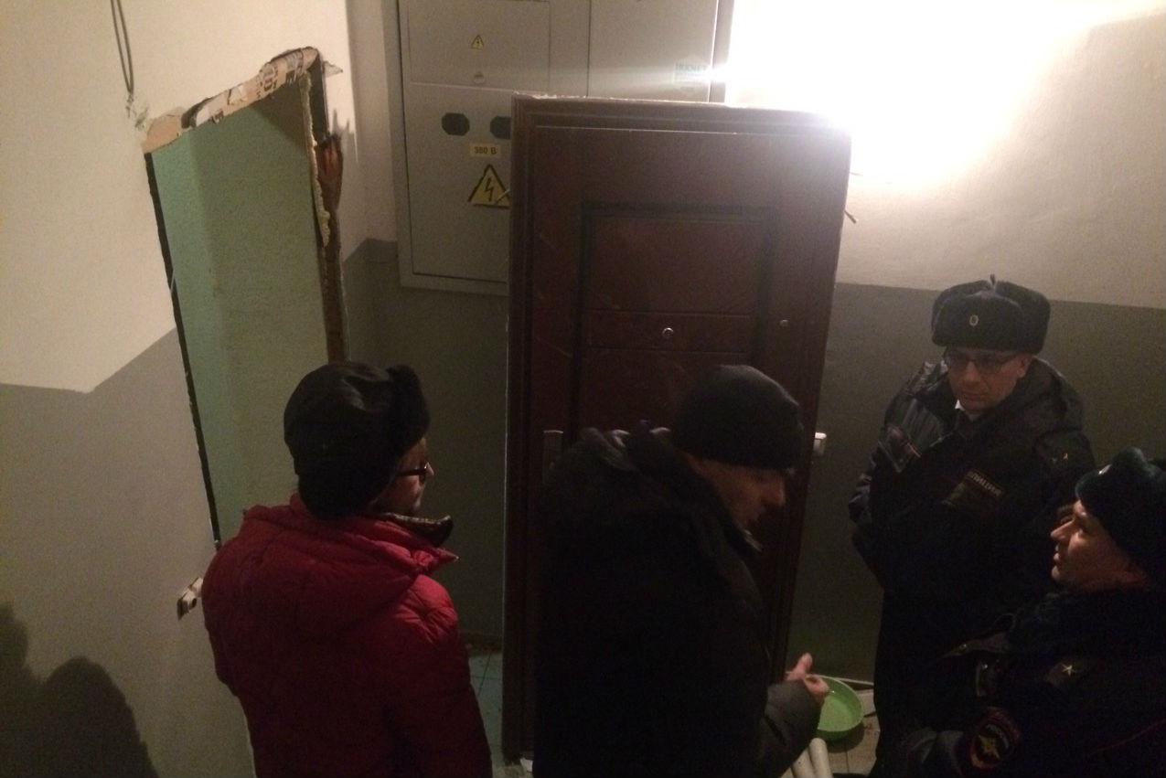 Взрыв прогремел в квартире по улице Советская в Иркутске. Фото: ГУ МВД России по Иркутской области.