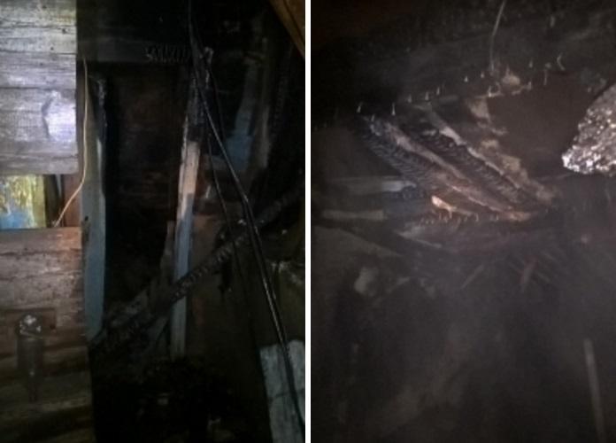 ВРостове при пожаре на1-ой Кизитериновской погибли два человека