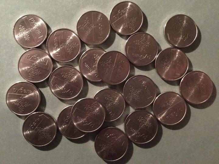могилевчанка расплатилась за тележку продуктов пакетом монет