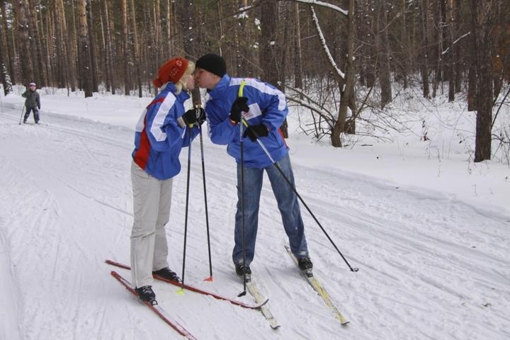 В Томске продолжают открываться катки и лыжные трассы.