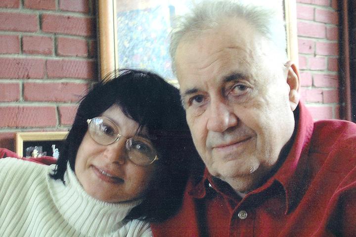 Эльдар Рязанов с дочерью Ольгой. Фото из семейного архива