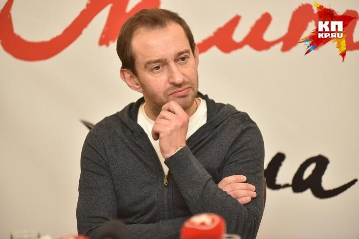 Константин Хабенский посетил Новосибирск соспектаклем для детей