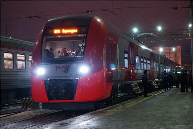 Новый дневной поезд запущен изТомска вНовосибирск