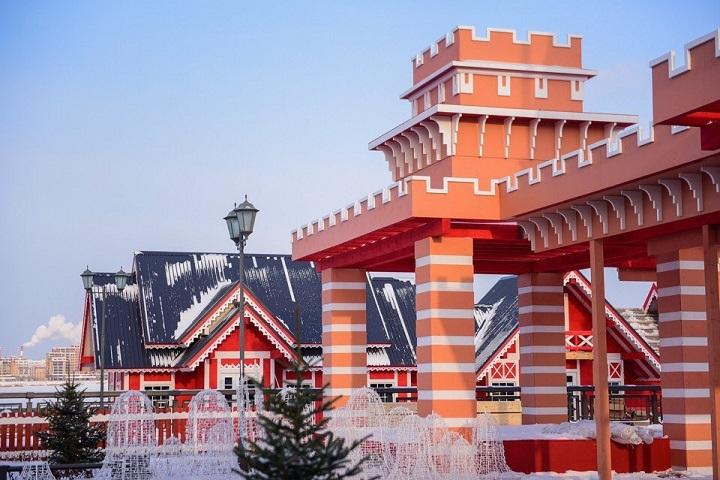 Самарцев приглашают в чудный новогодний городок наКремлевской набережной вКазани