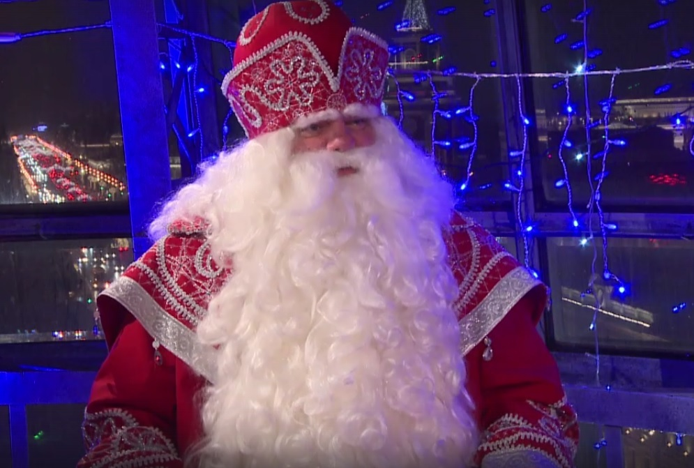 Ставропольский дедушка Мороз получил уже тысячу заявлений от городских жителей