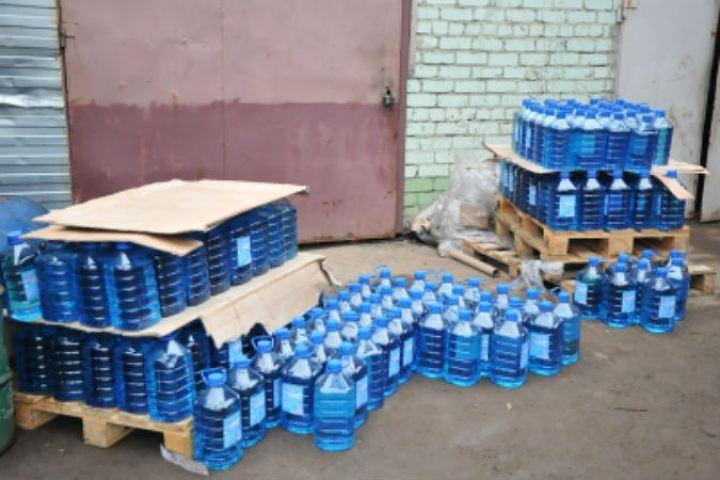 ВЯрославской области торговали стеклоомывателем сметанолом