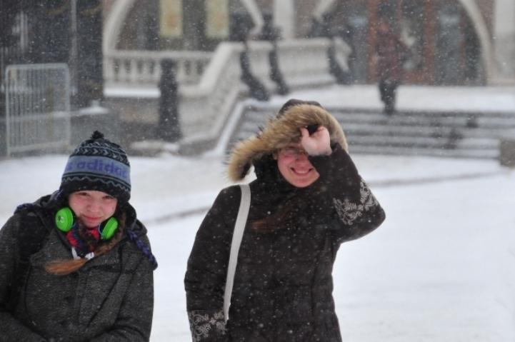 В Томске ожидается небольшой снег.