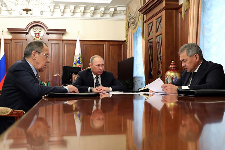 Владимир Путин иБашар Асад позитивно оценили договоренности поСирии