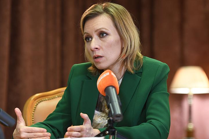 """Мария Захарова: ответила на вопросы журналистов """"КП""""."""