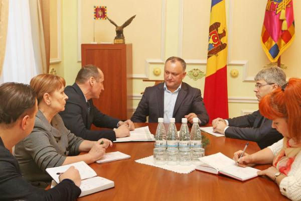 Лидеры Молдавии иПриднестровья встретились впервый раз за8 лет