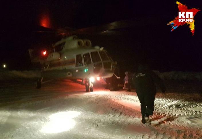 Cотрудники экстренных служб эвакуировали больных детей изпоселка около перевала Дятлова— довелось задействовать вертолет