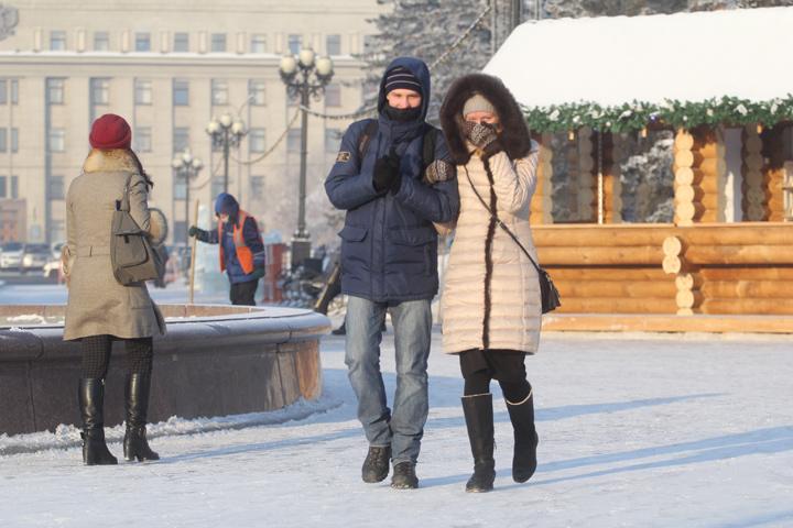 Прогноз погоды на 8 января в Иркутске: днем без осадков и до -20