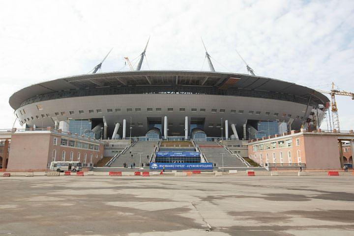 «Ещё парочку»: стадион вПетербурге вновь вырос встоимости на 2 млрд руб.