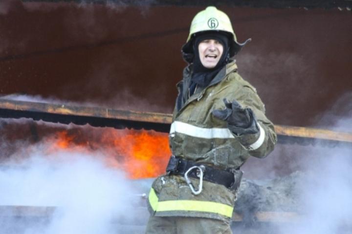В Ленинском районе Томска произошел пожар.