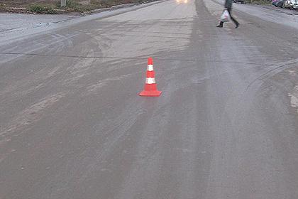 Под Волгоградом натрассе шофёр насмерть сбил пешехода