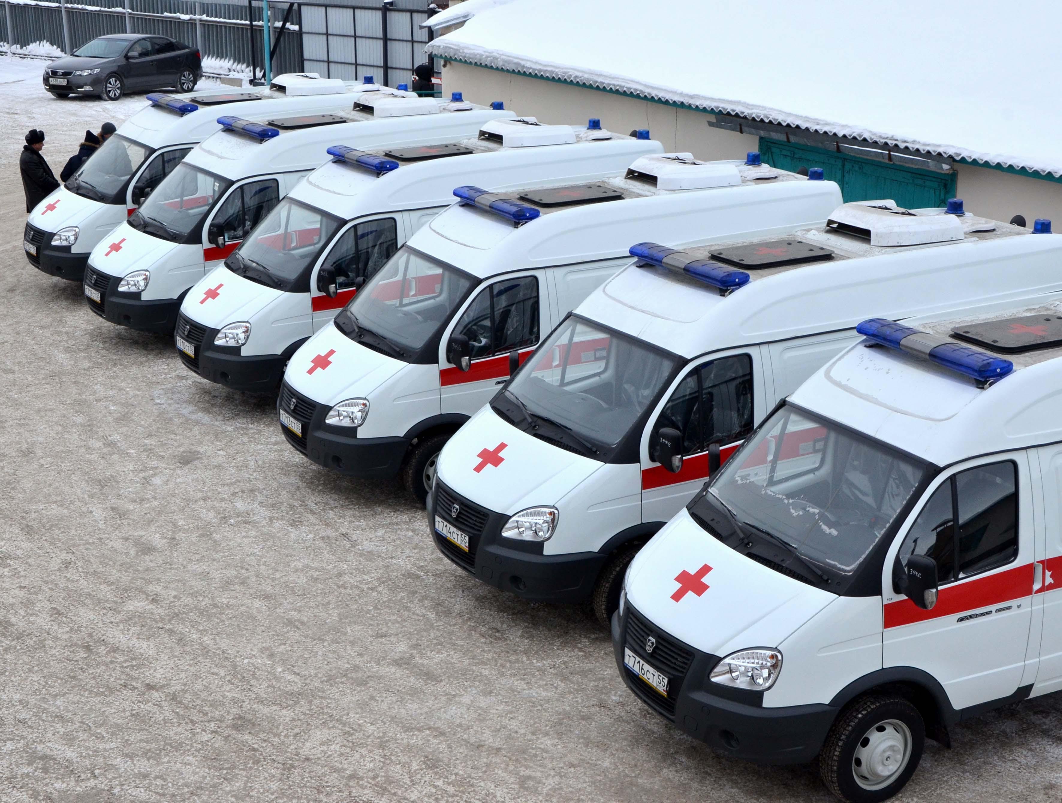 ВОмске появились 15 новых «неотложек»