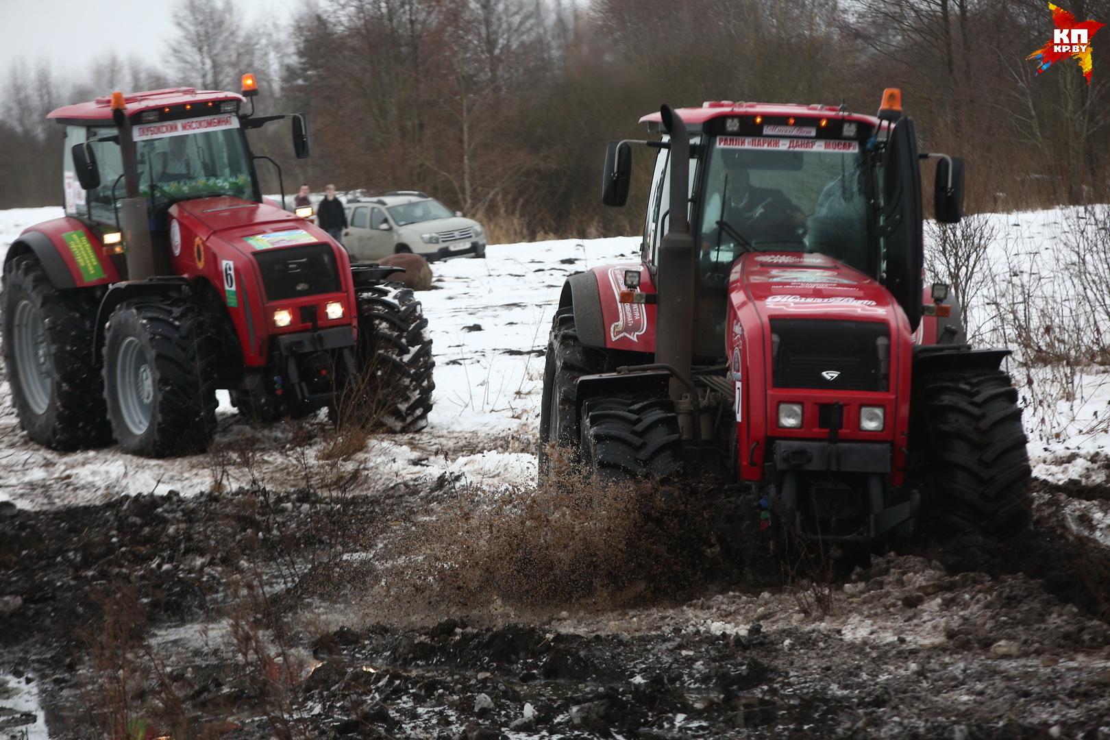 Тракторное ралли «Париж-Мосар»: победителем стала команда канала ОНТ