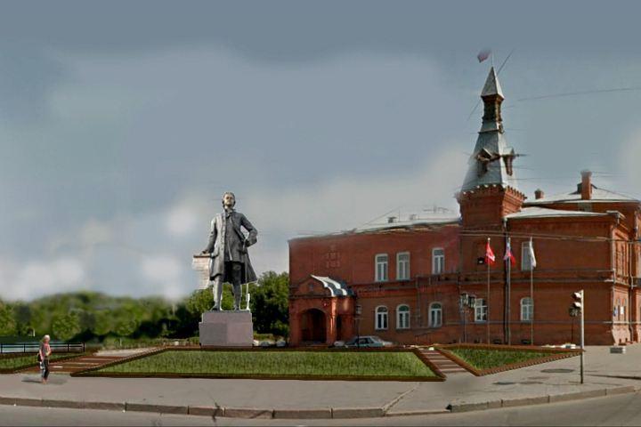 Выбор места для монумента Петру огромному вОмске доверят профессионалам