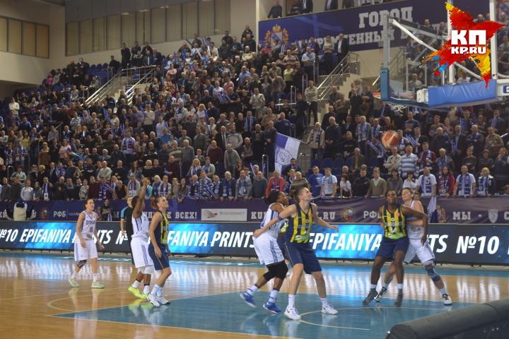 Курское «Динамо» одержало 11-ю победу сезона Евролиги