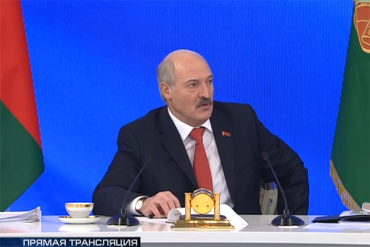 Лукашенко установил рекорд по длительности пресс-конференции