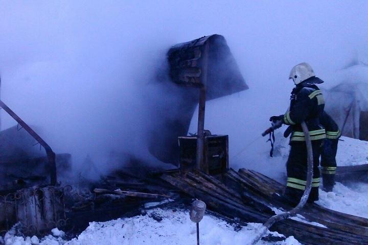 Жертвами пожара в личном доме вХМАО стали три человека