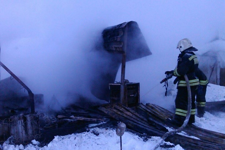 Впожаре вдачном доме вХМАО погибли три человека