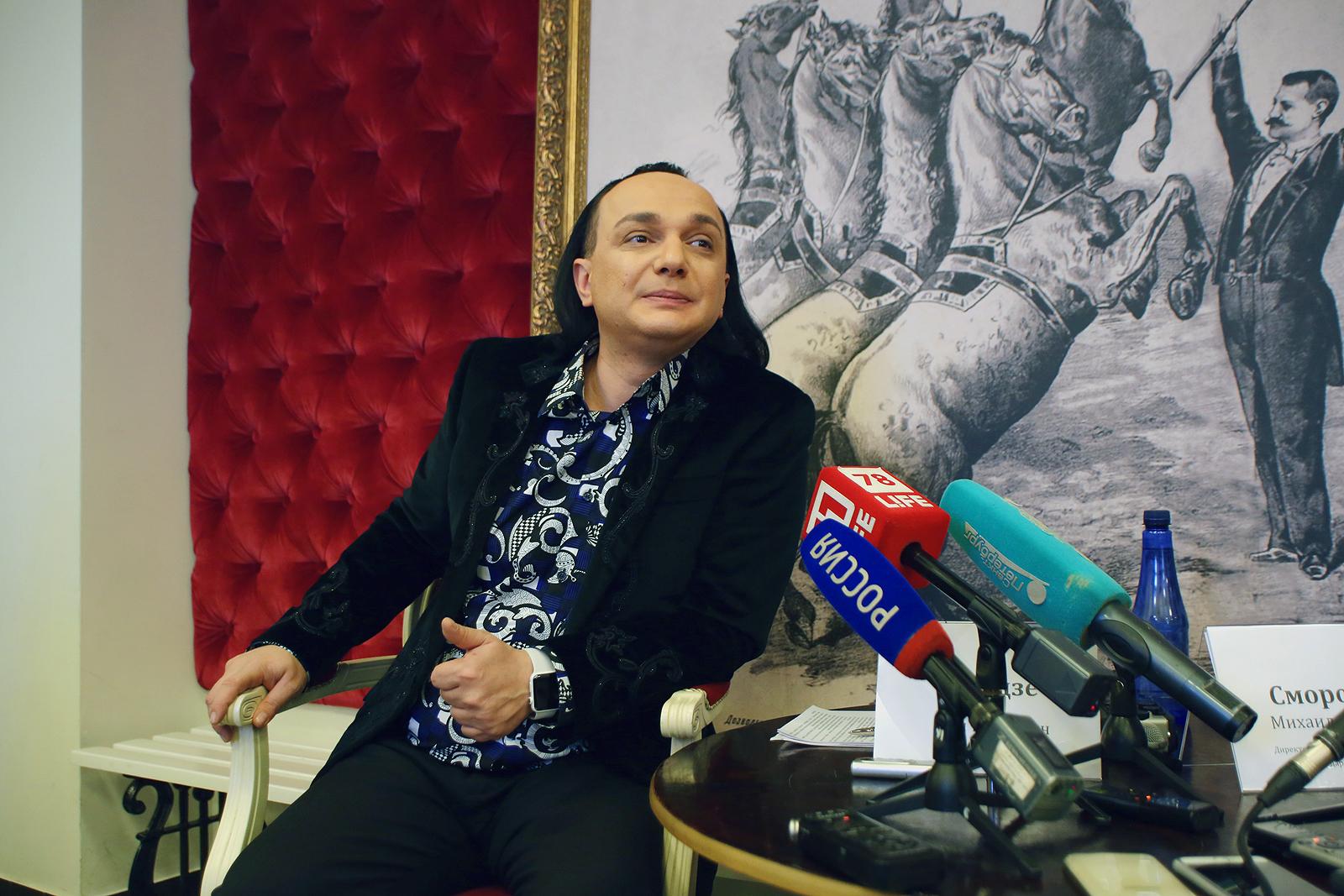 Гия Эрадзе покинул пост руководителя художественных проектов Цирка наФонтанке
