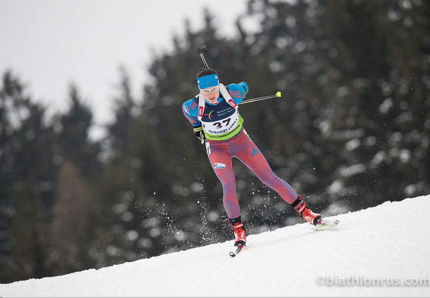 Биатлонистка изУкраины вошла в 10-ку наилучших спортсменок мира