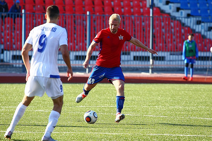 Украинский футболист возвращается в«СКА-Хабаровск»