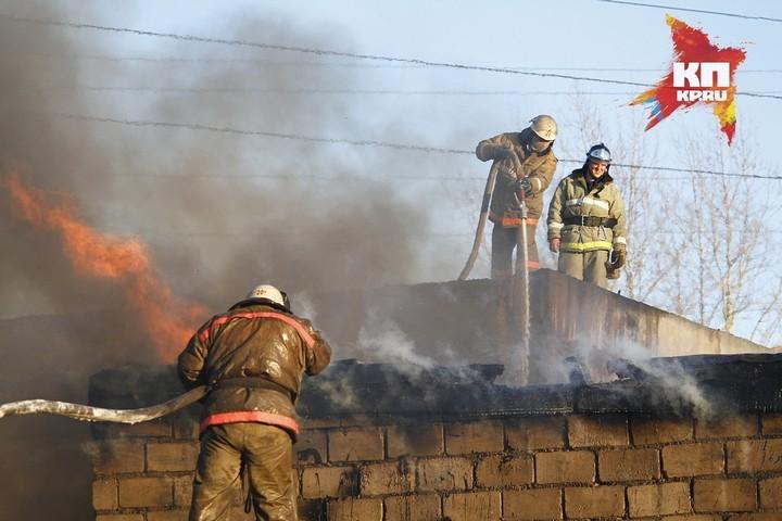Напожаре вКрасноярском крае два человека погибли и10 пострадали