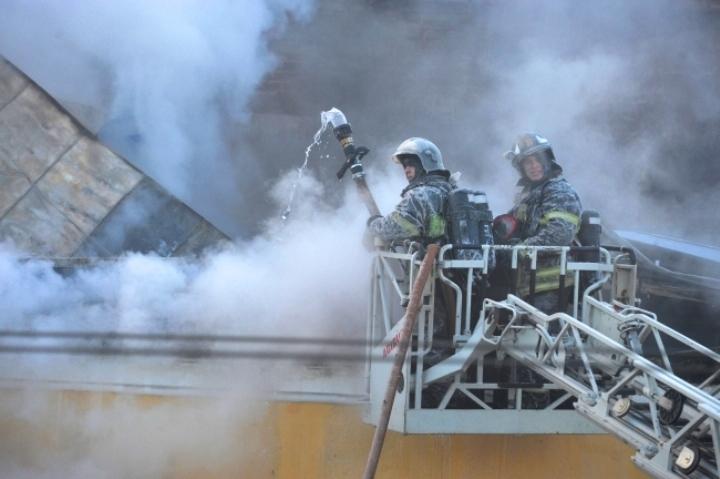 ВНаро-Фоминске продолжает работать канал, невзирая напожар в помещении
