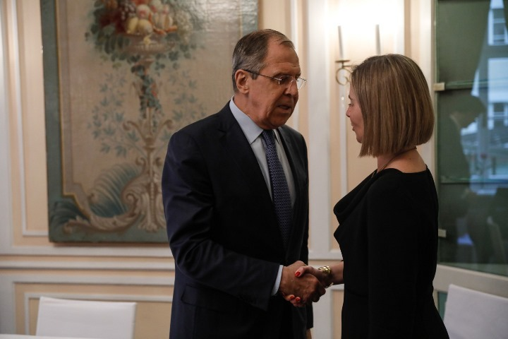 Сергей Лавров иФедерика Могерини обсудили отношения междуЕС иРоссией