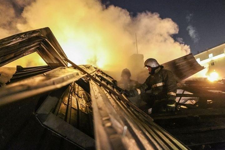 Вселе Парусном Воронежской области вечером сгорел человек