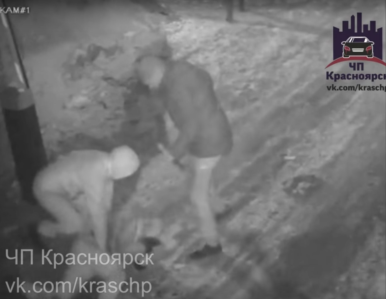 ВКрасноярске молодого человека трое безжалостно избили битами