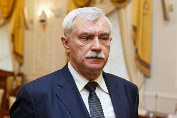 СРОЧНО! Губернатор Санкт-Петербурга Георгий Полтавченко ушел вдвухнедельный отпуск