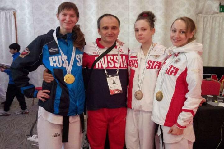Воронежские тхэквондистки завоевали три медали намеждународном турнире вЭмиратах