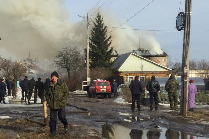 ВБрянске впожаре вдвухэтажном особняке умер 3-летний парень