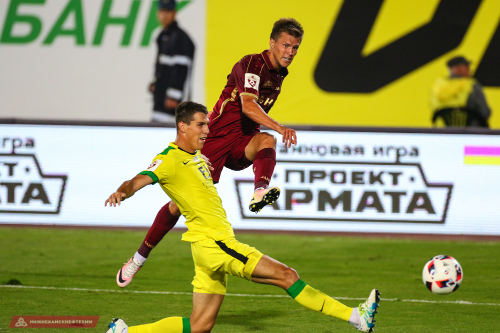«Анжи» примет впервой игре после паузы вчемпионате казанский «Рубин»
