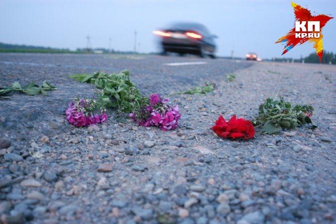 Натрассе под Новосибирском шофёр сбил пешехода и исчез