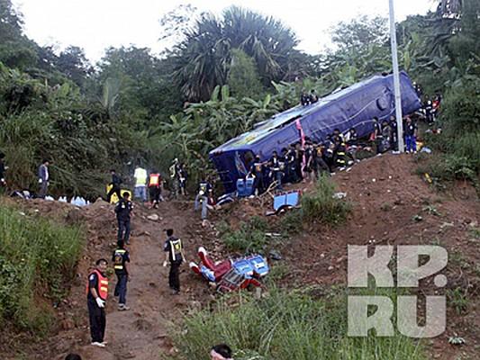 Погибли 22 пассажира автобуса