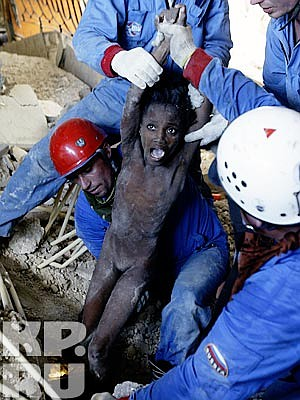 Бурю эмоций пережили наши корреспонденты, побывав на печально известном Гаити, после сильнейшего землетрясения. Анатолий Жданов и Александр Коц были единственными представителями российской прессы, передававшими оперативную информацию с места трагедии.