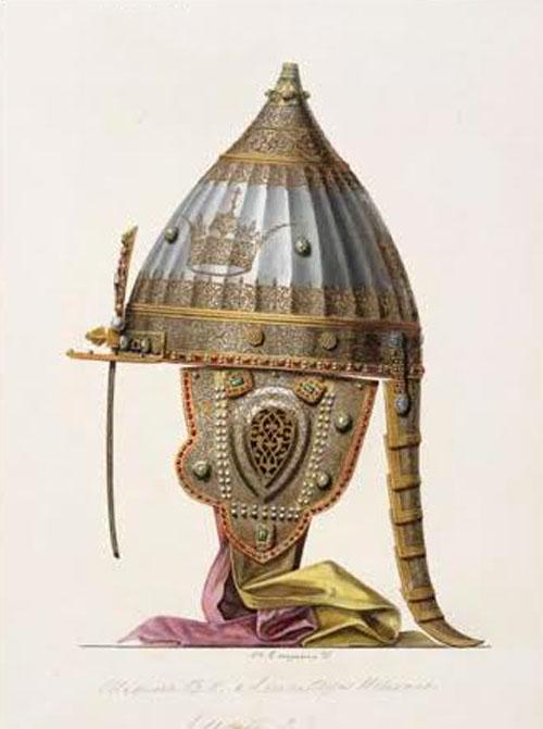 Турецкий шлем Михаила Федоровича Романова. Фото: wikipedia.org