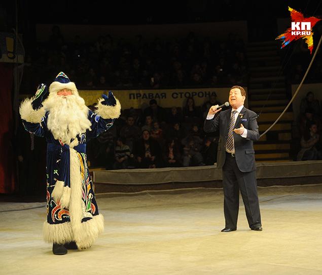 А за кулисами Донецкого цирка поджидал сюрприз Фото: Владимир ВЕЛЕНГУРИН