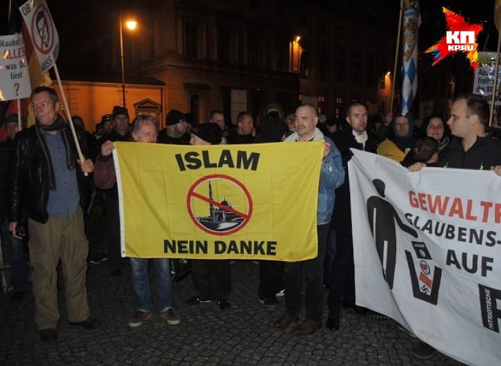 Наверное, нет ни одного немца, которого бы устраивала нынешняя ситуация Фото: Дарья АСЛАМОВА