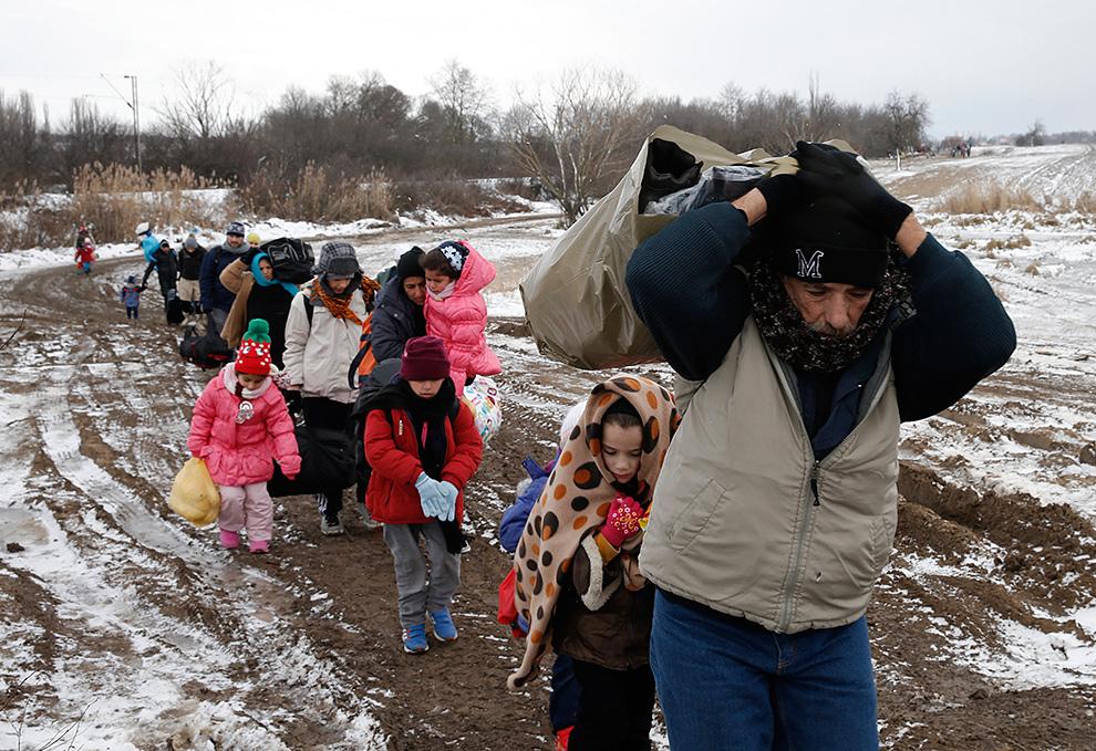 МВФ, по самым скромным оценкам, предсказывает прибытие в следующие два году четырех миллионов мигрантов, и все они стремятся в Германию! Фото: REUTERS